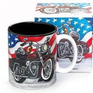 MOTORCYCLE MUG W/ BOX