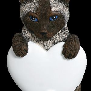 Cat w/Heart 543