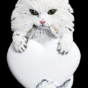 Cat w/Heart 545
