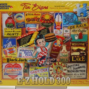 EZ Hold 300 Tin Signs Puzzle